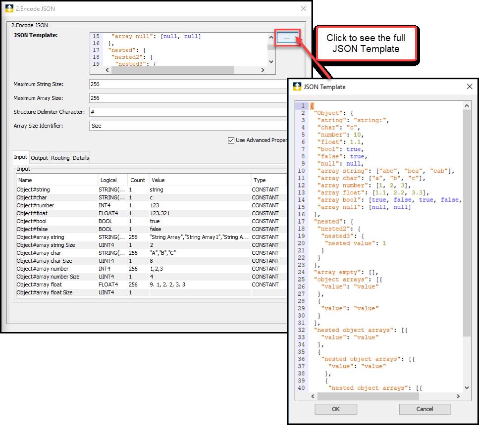 Encode JSON - Sandbox