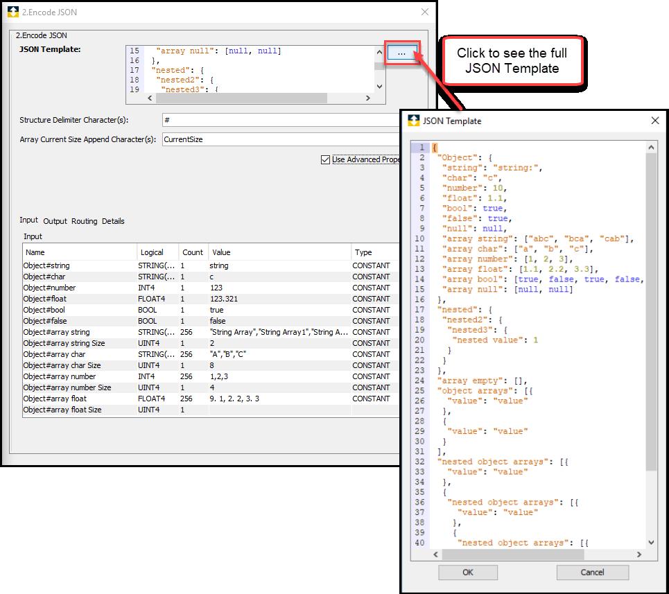 Encode JSON
