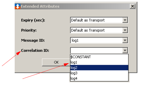 Using WebSphere MQ extended attributes