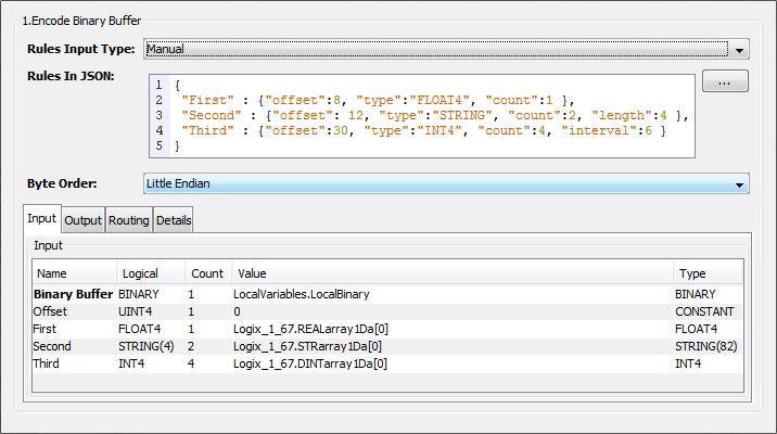 Encode Binary Buffer