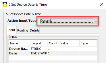 Set Device Date & Time